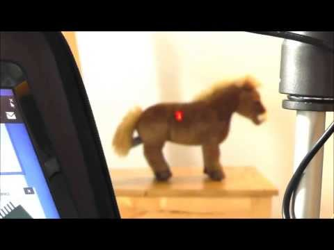 VirtuRange DIY LIDAR 3D Scanner creates first pointcloud