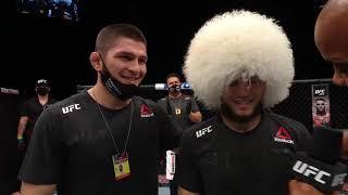 UFC Бойцовский остров 8: Умар Нурмагомедов - Финиш и слова после боя