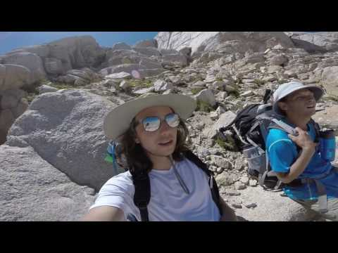 Backpacking to tallest mountain in Continental U.S. | Mt. Whitney
