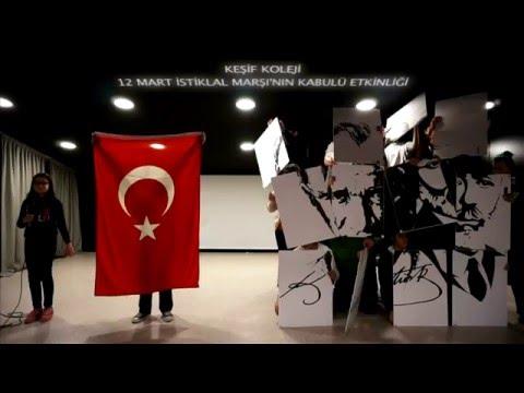 Keşif Koleji - 12 Mart İstiklal Marşı'nın Kabulü Etkinliği