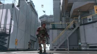 MGS V chopper with WWE entrance music