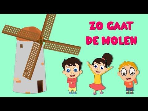Zo gaat de molen | Nederlandse kinderliedjes