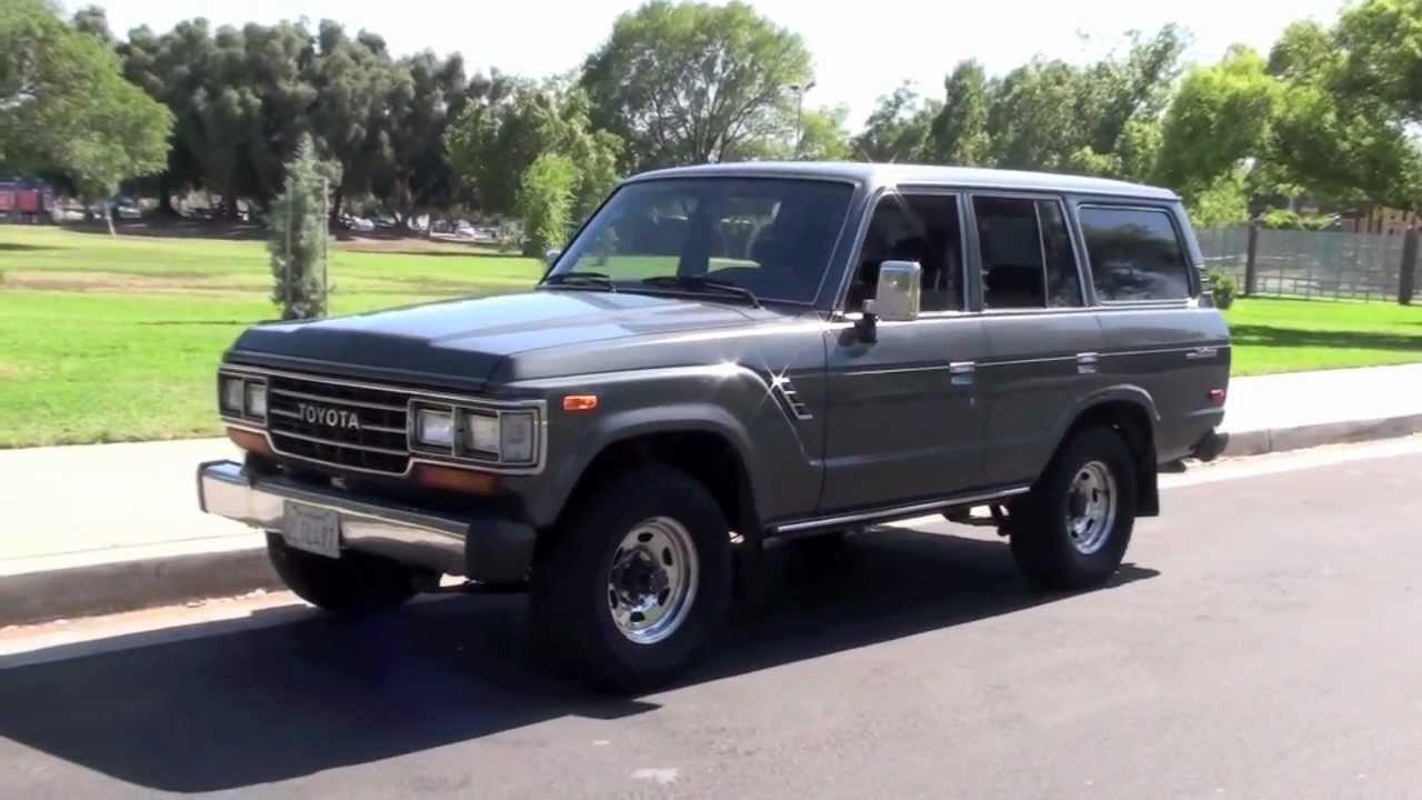 1988 FJ62 Land Cruiser For Sale   YouTube