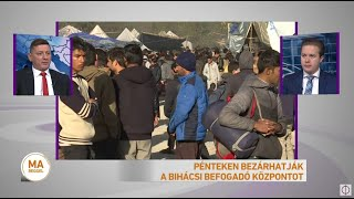 Pénteken bezárhatják a bihácsi befogadóközpontot