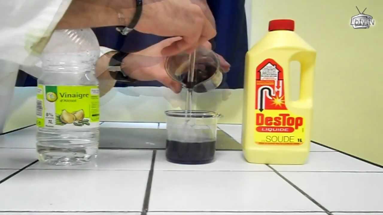 La chimie...à la maison - Le jus de chou rouge comme