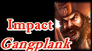 LOL Pro - SKT T1 Impact Gangplank vs Malphite - Korea SoloQ