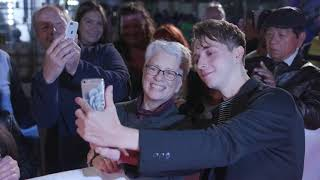 THE SONG OF NAMES: GERRAN HOWELL RED CARPET ARRIVALS TIFF 2019
