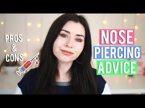 Nose Piercing Types what are the types? **2021 Piercing