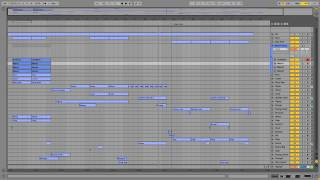 Ableton Live Midi Production Template - Busted (Big Room EDM Style)