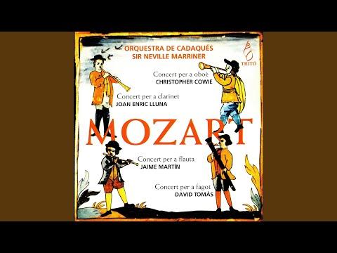Concierto Para Oboè Y Orquesta In G Major, K. 314: I. Allegro