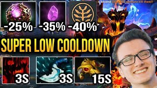 Miracle- Shadow Fiend EXTREMELY COOLDOWN REDUCTION Dota 2