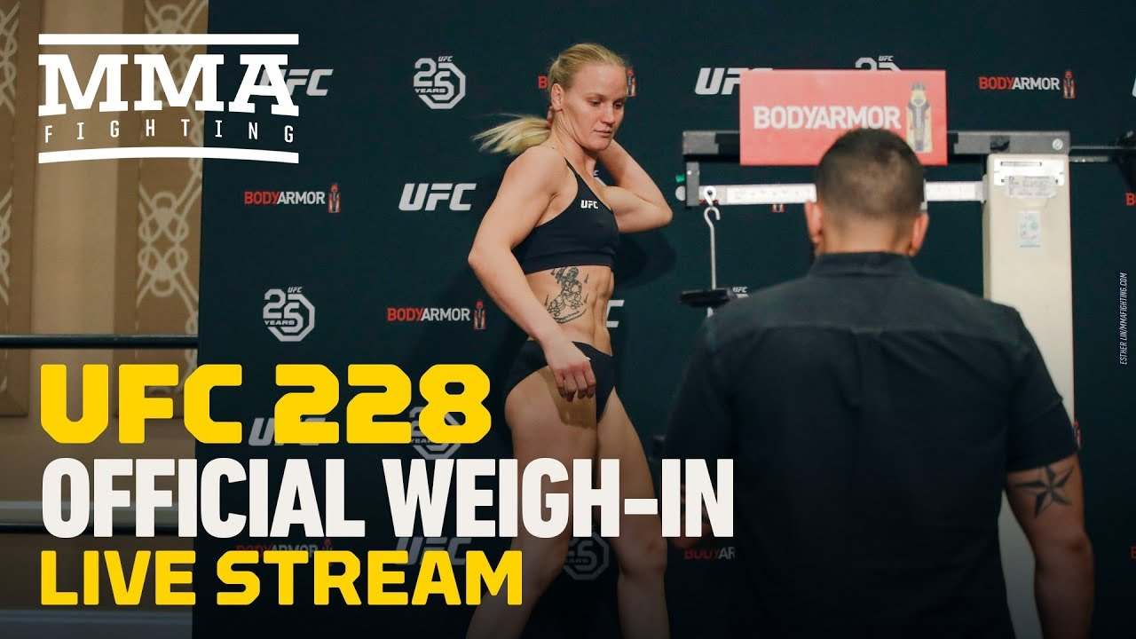 UFC 228 Official Weigh-in Live Stream (Archived) - MMA Fighting