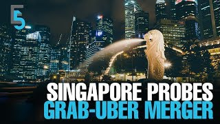 EVENING 5: Grab-Uber deal under scrutiny in Singapore