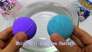 Disney Magic Castle vs Sonic Bath Bomb Battle