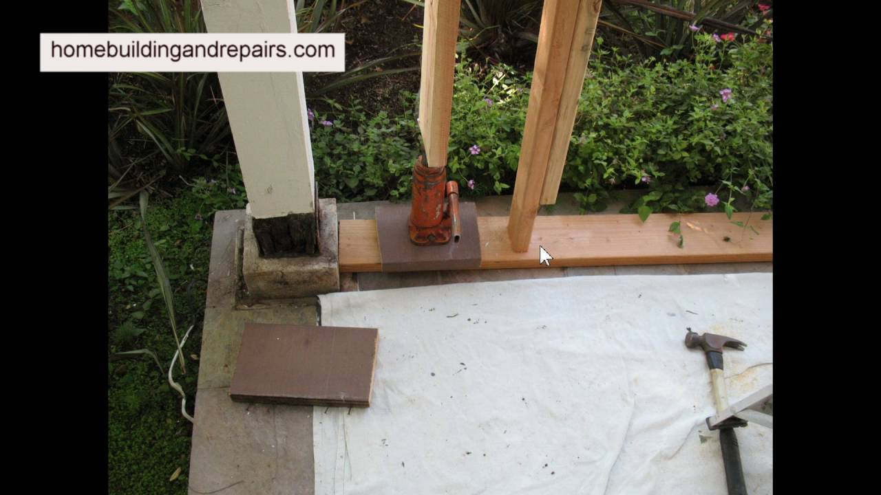 How To Make Decorative Patio Post Covers