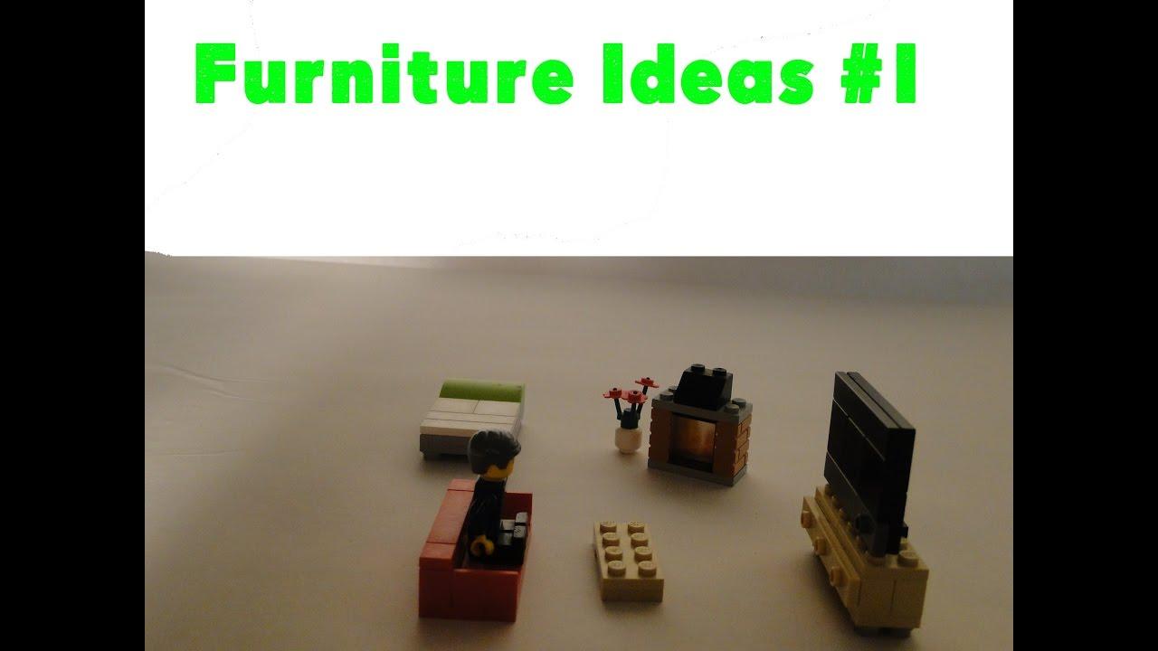 Lego Furniture 7 Lego Furniture Ideas Lego Designs 1 Creationtime Youtube