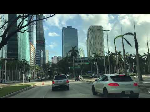 Miami Brickell Avenue After Hurricane Irma 2017