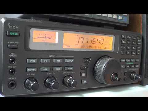Radio Exterior Espana in spanish 17715 khz 1830 UT