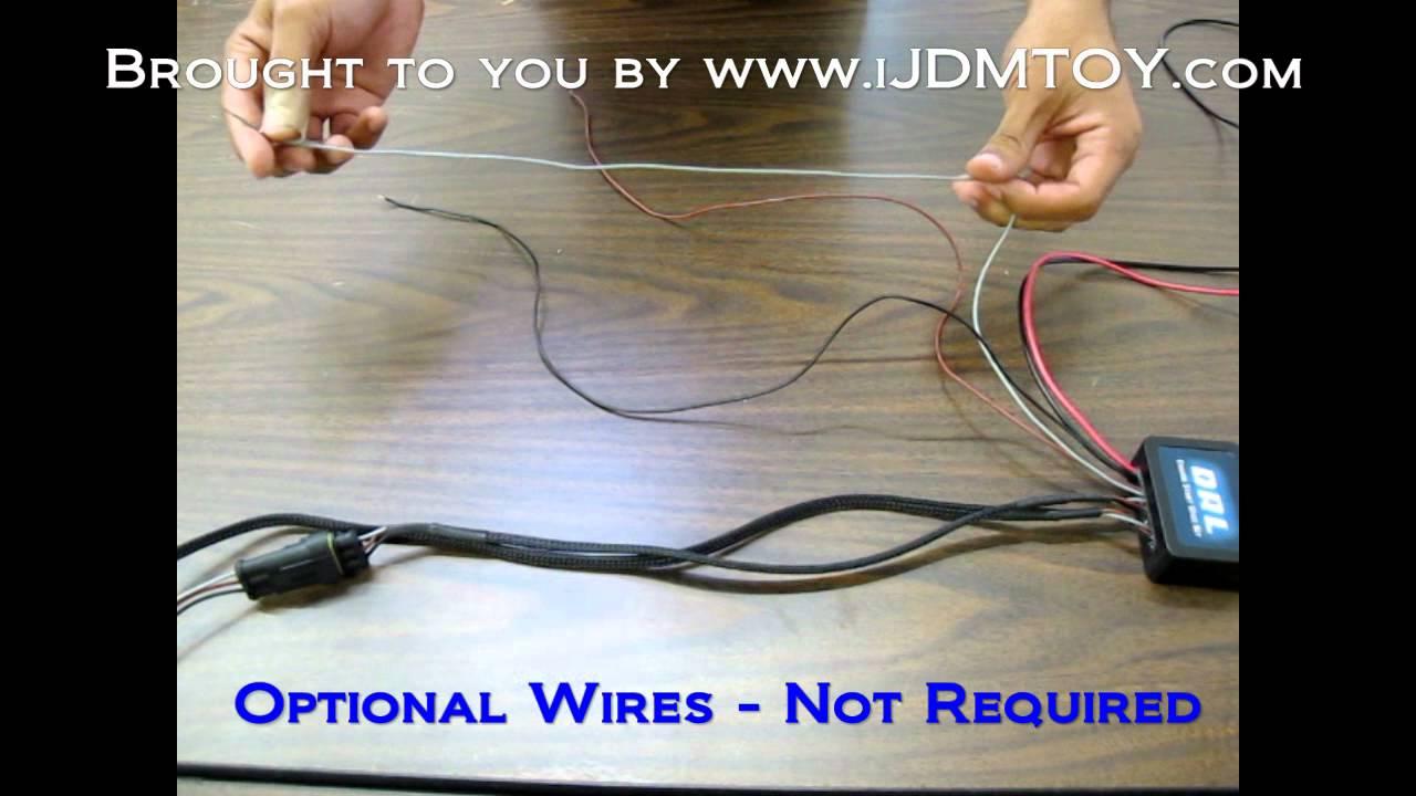 wiring diagram for daytime running lights