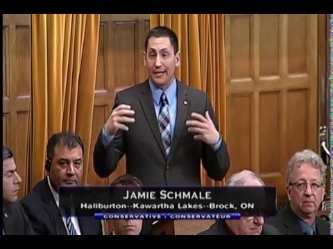 MP Jamie Schmale In Response to the Speech from the Throne