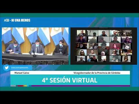 Cuarta Sesión Virtual - 142 Período Legislativo