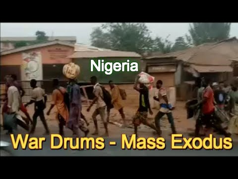 Nigeria At The Brink Of War Mass Exodus Of Northerners
