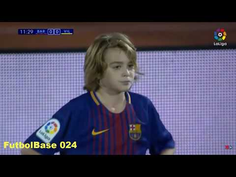 Cristóbal Muñoz - Little talent from FC Barcelona