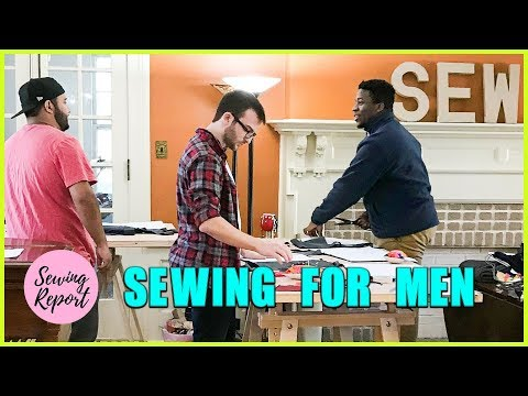 LIVE 🔴 Yes, Men Can Sew Too! 🌎   SEWING REPORT