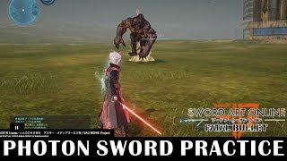 Sword No Damage Solo Practice [Extreme] - Sword Art Online: Fatal Bullet [JP1.03]