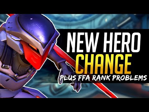 Overwatch NEW HERO & MAP COMP CHANGES & FFA Rank Problems