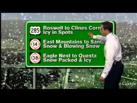 Mark Ronchetti KRQE News 13 Weather Forecast 12-2-11