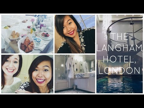 London Travel Vlog: Staying At The Langham Hotel & Watching Matilda Musical at The West End