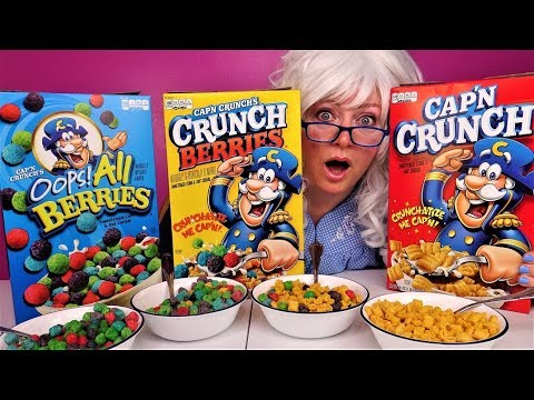 Cap N Crunch Cereal Oops All Berries Cereal Crunch Berries Cereal Granny Eats Youtube After introducing the original cereal in 1963. cap n crunch cereal oops all berries cereal crunch berries cereal granny eats