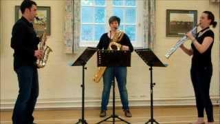 Allemande – saxophone trio music