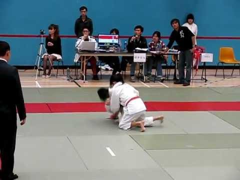 20120226香港學界柔道邀請賽女子-45KG準決賽 紅方TC YAN - YouTube