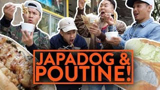 FUNG BROS FOOD: Japanese Hot Dogs & Poutine Fries (Japadog)