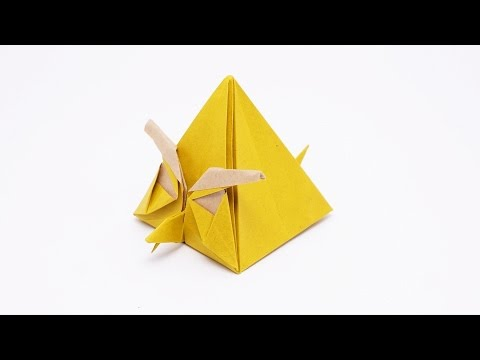 Origami Angry Yellow Bird - Chuck (Ryan Dong)