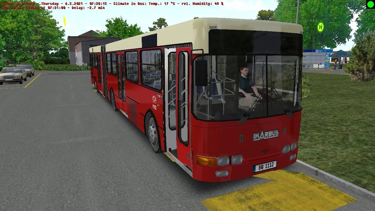 Omsi 2 Belgrade Line 71 From Ledine To Zeleni Venac With Ikarbus IK 201 2004