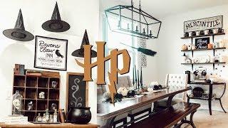 HALLOWEEN DECOR TOUR 2019 | Harry Potter Inspired Halloween Decor