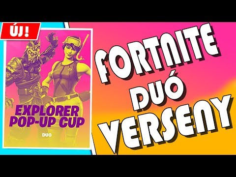 ELINDULUNK A FORTNITE IN-GAME DUÓ KUPÁN | FORTNITE | ÉLŐ thumbnail