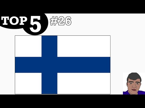 TOP 5 TV CHANNELS #26 - Finland