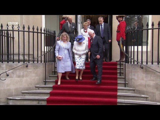 canada-official-in-protocol-breach-with-queen-bbc-news