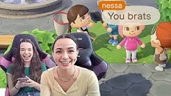 Trolling Fans in Animal Crossing - Merrell Twins Live (Highlights)