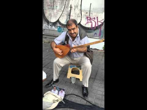 Turkish Saz Player - Taksim Square (Turkey) - Han Sarhos Hanci Sarhos by Asik Mahsuni