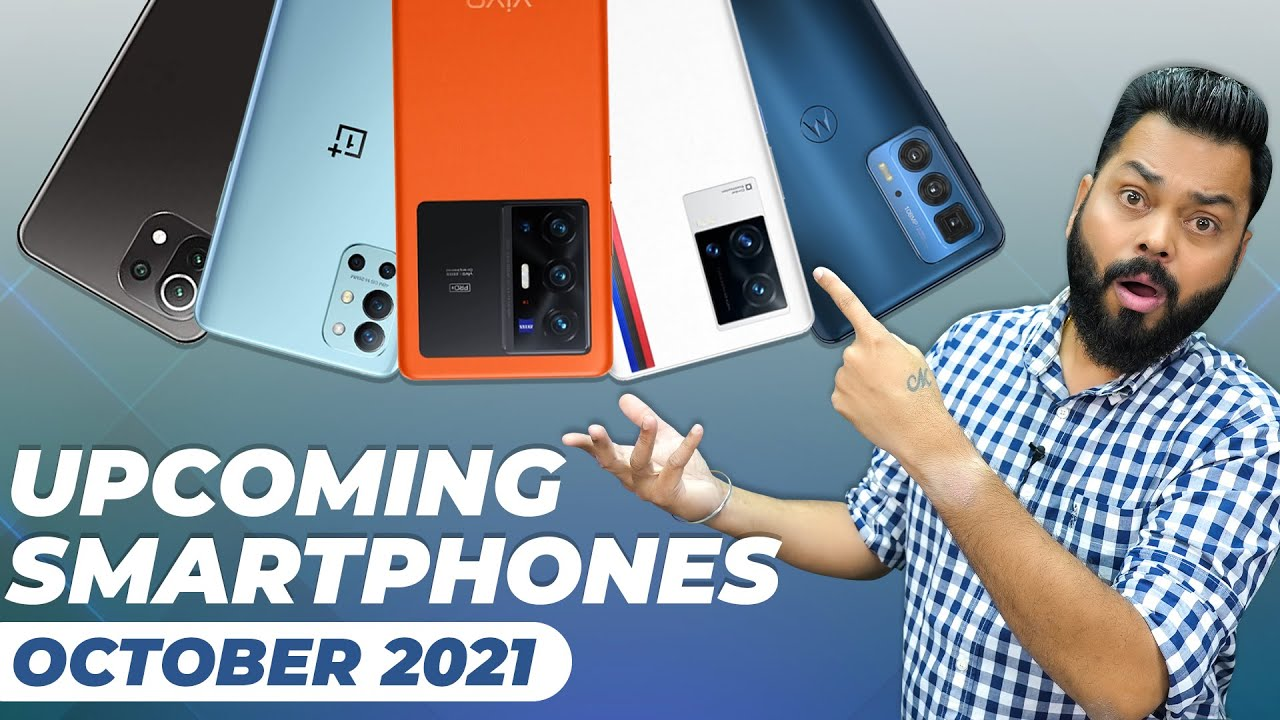 Download Top 10+ Best Upcoming Mobile Phone Launches ⚡ October 2021