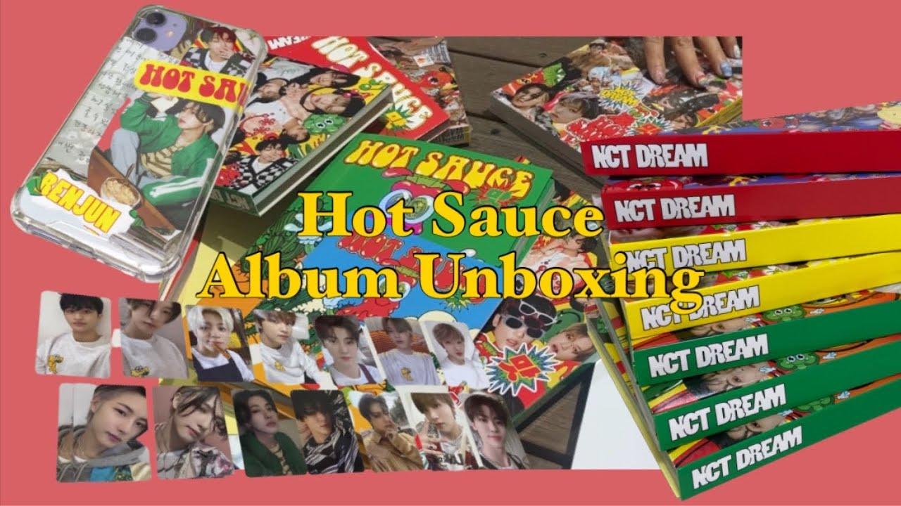[VLOG | ENG SUB] 입맛대로 골라 ma dish | NCT DREAM 맛 (Hot Sauce) 앨범 언박싱 | 앨범깡 | 폰꾸 | 시즈니 브이로그