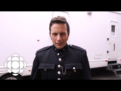 Jonny Harris becomes Constable Crabtree on Murdoch Mysteries  CBC Connects