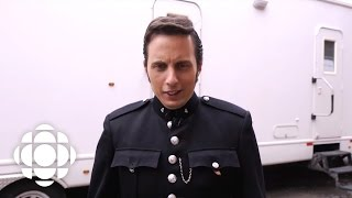 Jonny Harris becomes Constable Crabtree on Murdoch Mysteries | CBC Connects