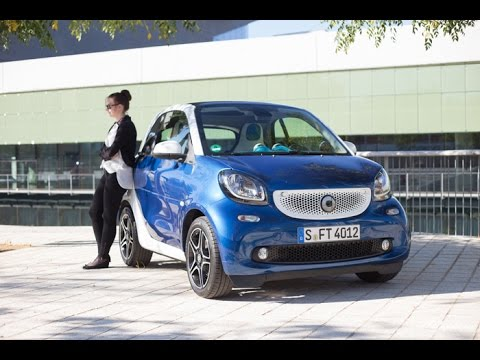 fahrbericht neuer smart fortwo mit 90 ps turbo motor youtube. Black Bedroom Furniture Sets. Home Design Ideas