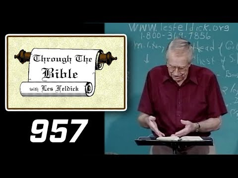 [ 957 ] Les Feldick [ Book 80 - Lesson 3 - Part 1 ] Daniel Part 3: Daniel 4:26-7:8 |a